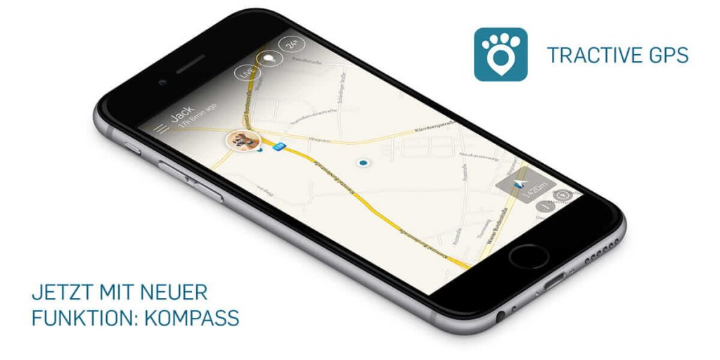 Neu in der Tractive GPS App – der Kompass