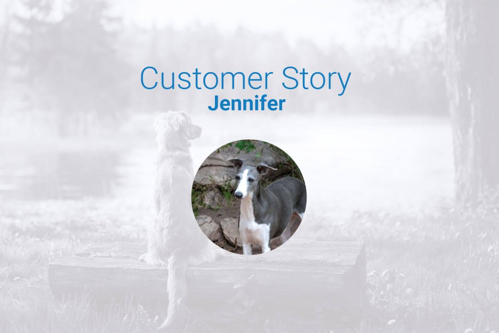 lost whippet customer story and Tractive review