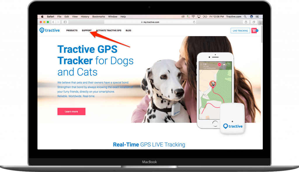 Tractive Help Center