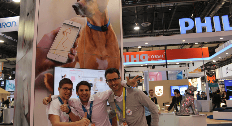 Tractive at CES in Las Vegas