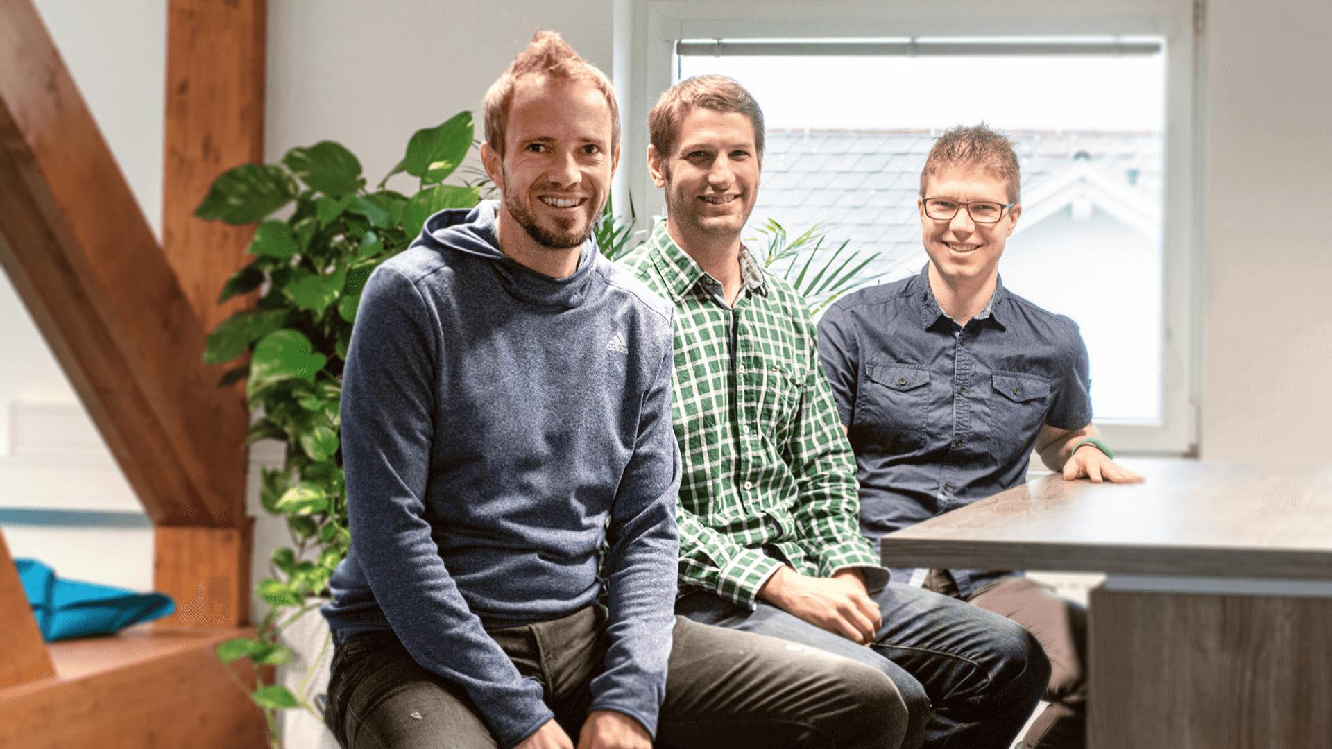 Die drei Michaels beschlossen vor sechs Jahren ein Start-up zu gründen