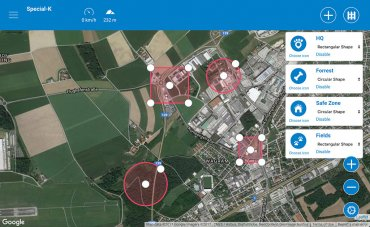New Tractive Safe Zone - Webapp