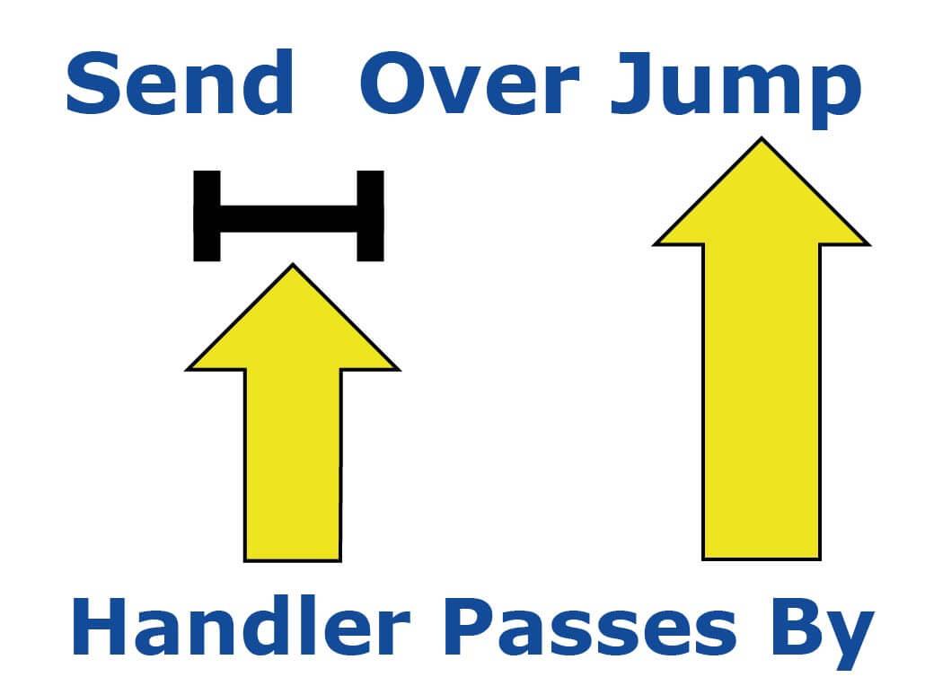 Send over jump