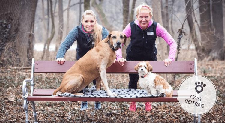 Conny Sporrer und Béatrice Drach zeigen wie du mit Hund fit wirst