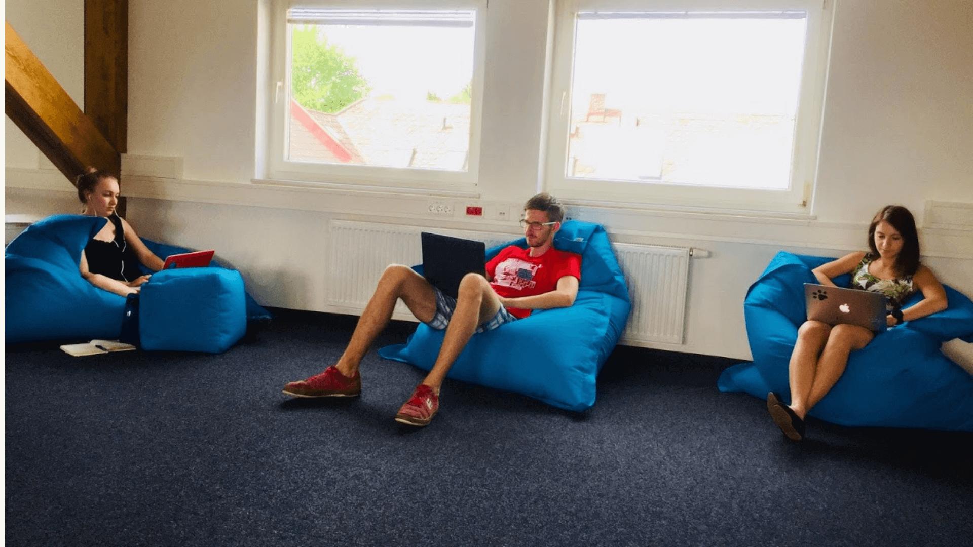Das coolste Büro