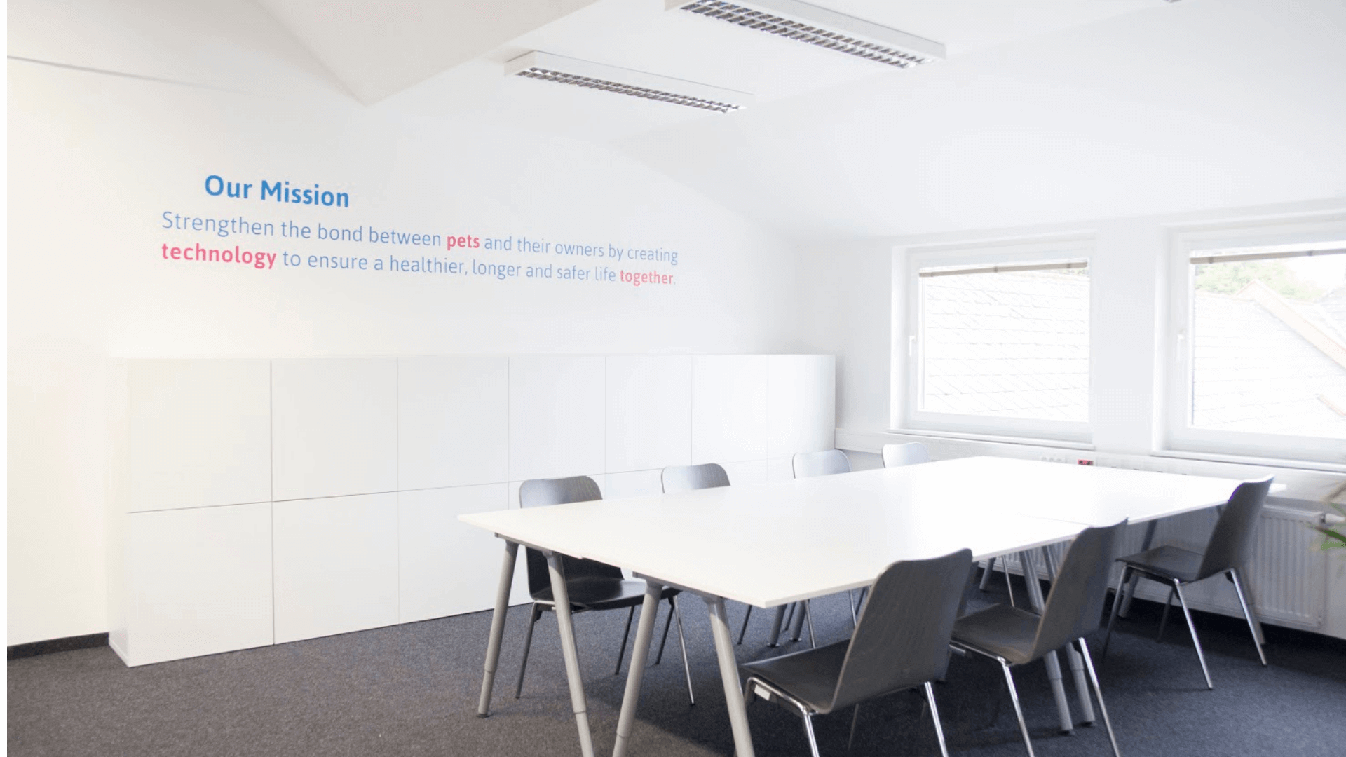 Meeting-Raum im Tractive Büro