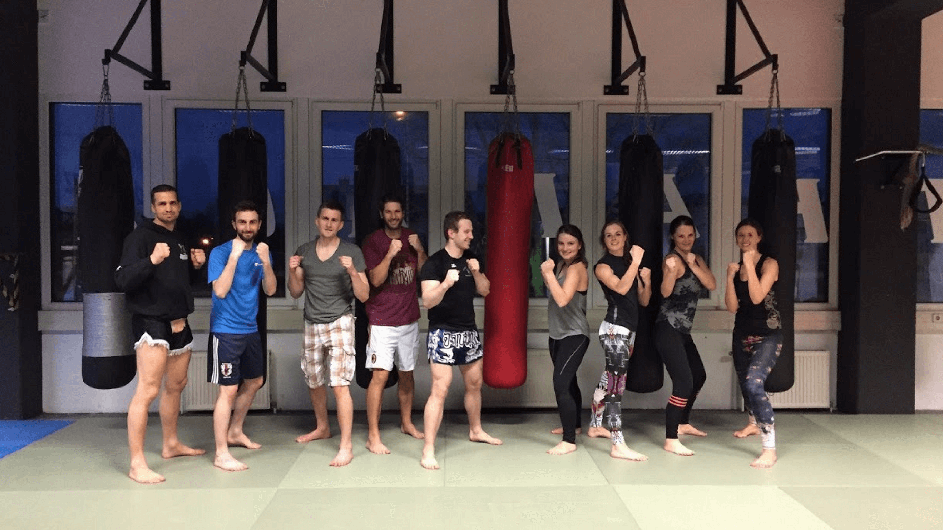 Muay Thai Teamsport bei Tractive