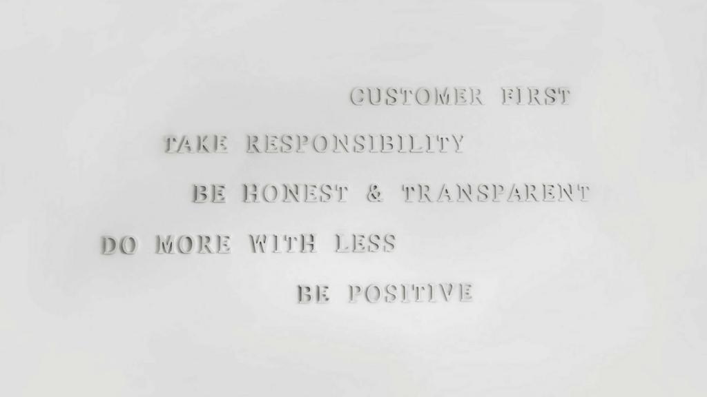 Unsere Core Values und warum wir viel Wert darauf legen
