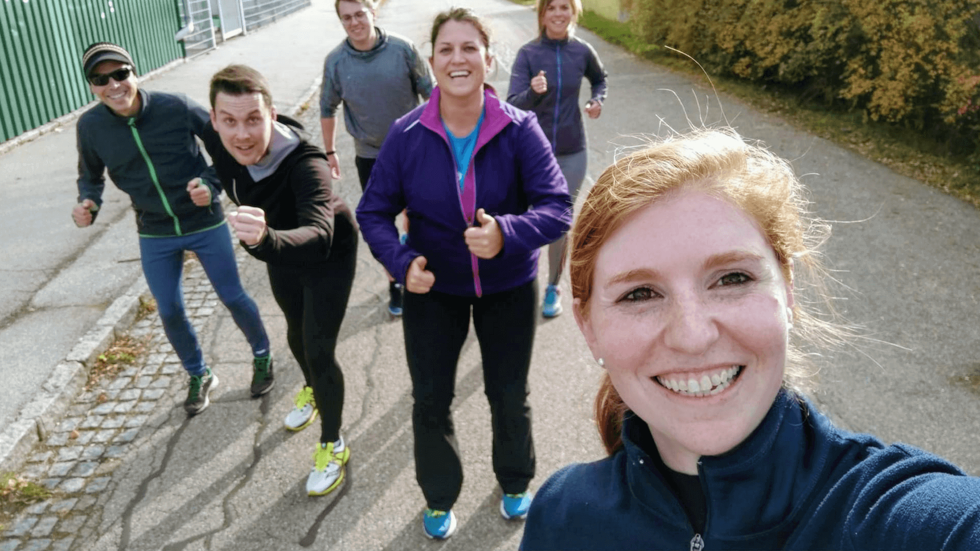 Corporate wellness and Slunning at Tractive