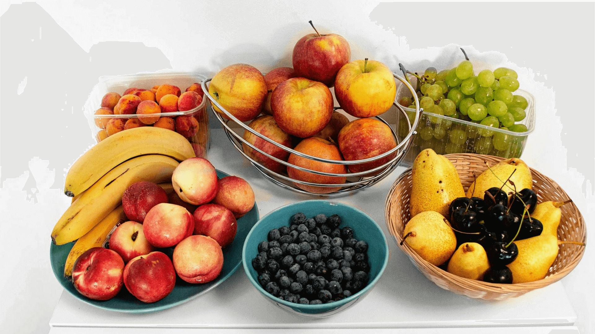 Gesundheitsförderung bei Tractive und Obst als Stärkung zwischendurch