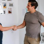 Welcoming an employee during our recruiting process tractive