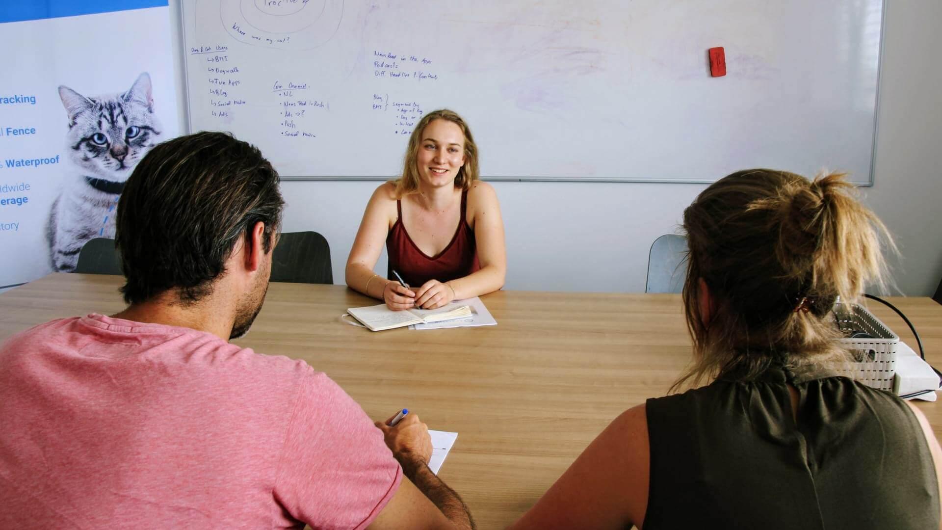 Das HR-Team begleitet im Bewerbungsprozess