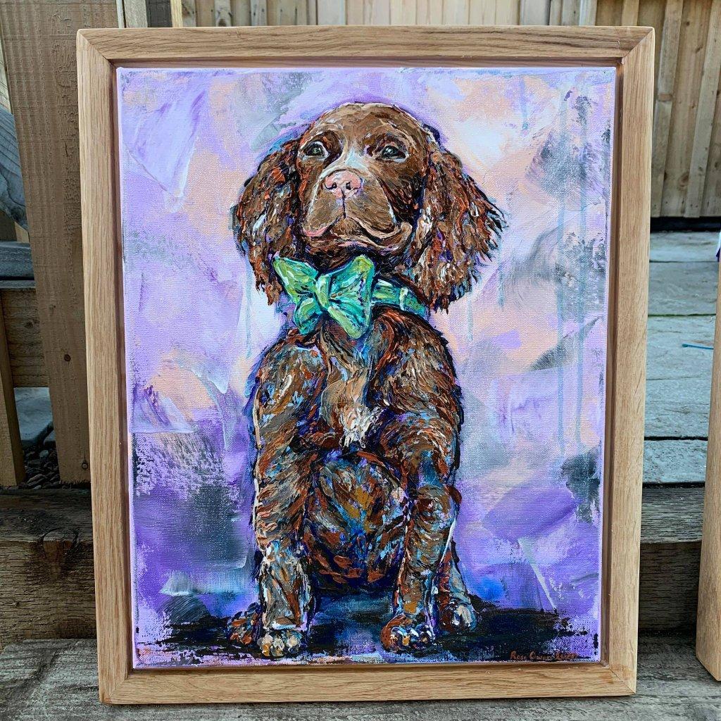 Pet portrait by Rose Owen