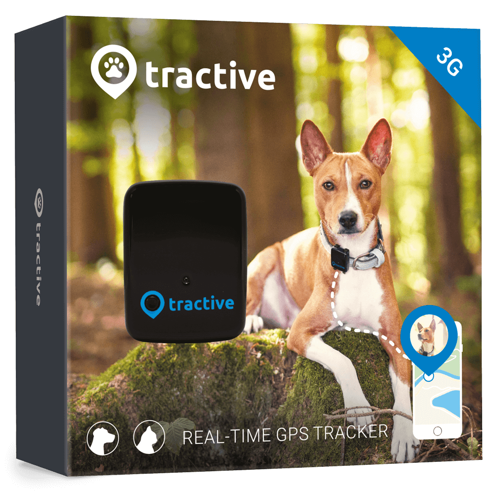Tractive GPS 3G Tracker for dogs and cats - North American version