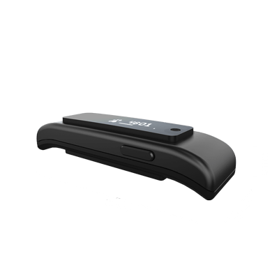 Tractive GPS Tracker with dimensions