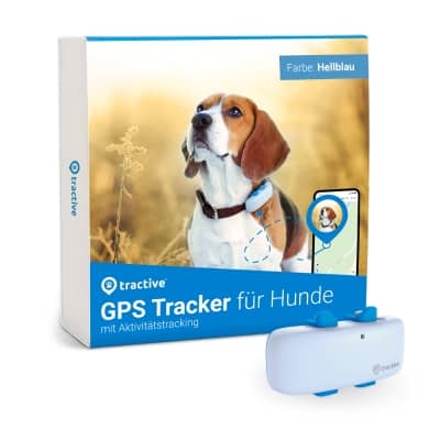 Verpackung des Tractive GPS DOG 4