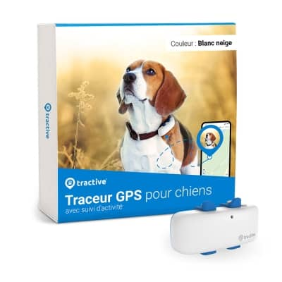 Emballage du Tractive GPS DOG 4